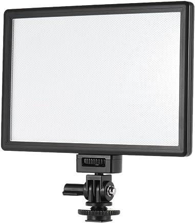 45 cm Photo Studio LED Anneau Lumi/ère Vid/éo /Éclairage 45 W Bi-Couleur 3300k-5500k Tr/épied dEclairage pour Portrait Selfie Cam/éra/Smartphone Youtube VILTROX VL-600T 17.7 Pouces