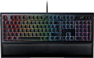 Razer Ornata Chroma - Teclado Gaming, Estándar, con USB, Alámbrico, Interruptor de Membrana, IT Layout, Color Negro
