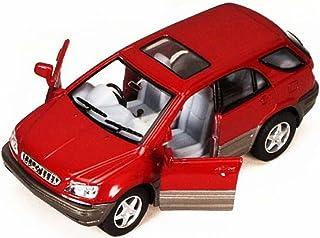Kinsmart Lexus RX 300 SUV, Red - 5040D 1/36 scale Diecast Model Toy Car