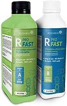 R PRO FAST Silicone vloeibaar -Vloeibare siliconen, Vloeibare siliconen, Afvormmassa, and siliconen rubber 1:1 (2 kg)