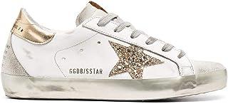 Golden Goose Mode De Luxe Femme GWF00102F00078610385 Blanc Cuir Baskets   Ss21