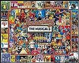 ERTYG 1000 Piezas Rompecabezas niños Juguetes educativos Multicolor Musical Adultos Juegos Infantiles Art Painting Puzzle