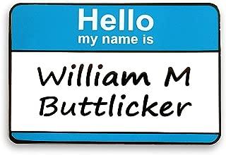 The Office Bill Buttlicker Name Tag Enamel Lapel Pin