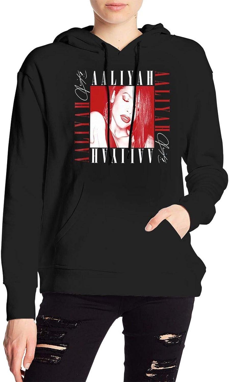 Kellysteion Women's Aaliyah Hoodie 3D Printed Sweater Fashion Sp