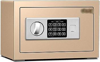 JJYPY Keys Cabinet with Digital Lock Electronic Key Safe Pin Code Storage Box for Keys Secure Steel Lockbox Scratch Resist...