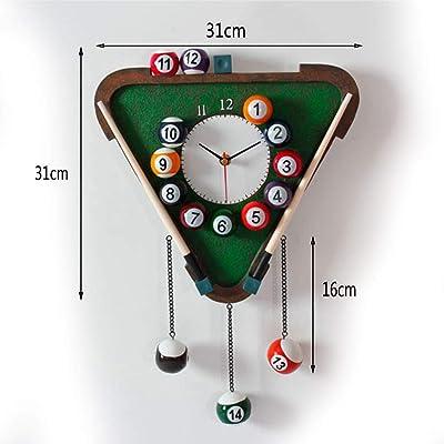 ZLZGZ Reloj De Pared Creativo, Números Arábigos, Reloj De Cuarzo ...
