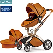 Baby Stroller 2018 Hot Mom Baby Carriage with Bassinet Combo Black