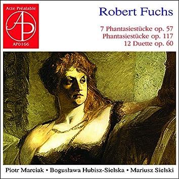 Robert Fuchs: Works for Violin, Viola & Piano