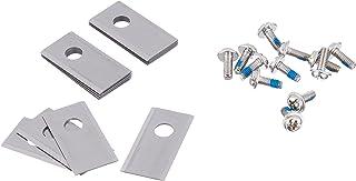 WORX WA0190 Landroid vervangingsmessen - originele reservemessen voor alle Landroid robotmaaiers - WORX accessoires set va...