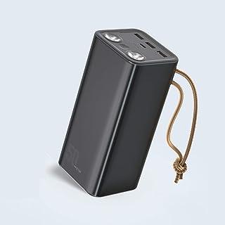 Power Bank 50000mAh Stor kapacitet 22.5W Fast Charge PowerBank Extern batteriladdare extra batteriedelhjälpbatteri,Black