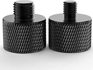 Donuts Mic Stand Adapter 5/8 to 3/8 and 5/8 to 1/4 Mic Thread Screw Adapter Combo Pack For Microphone Mounts and Stands 2 ...