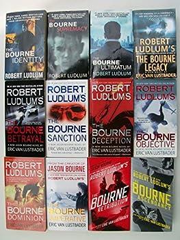 Bourne Series  Set of 12  Identity Supremacy Ultimatum Legacy Betrayal Sanction Deception Objective Dominion Imperative Retribution Ascendancy