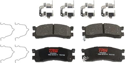 TRW Black TPC0553 Premium Ceramic Disc Brake Pad Set