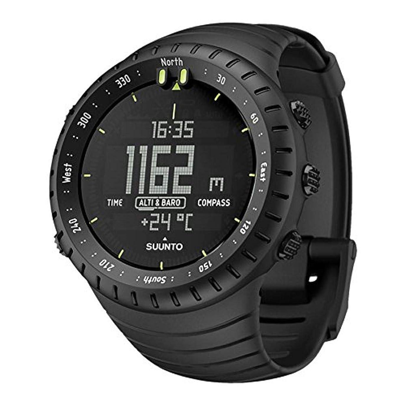 内訳ゴミ首尾一貫したスント(SUUNTO) 腕時計 コア オールブラック 3気圧防水 方位/高度/気圧/水深 [日本正規品 メーカー保証2年] SS014279010