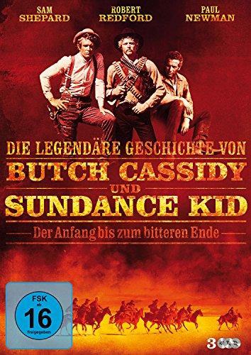 Die legendäre Geschichte von Butch Cassidy und Sundance Kid - Der Anfang bis zum bitteren Ende (3 DVDs)