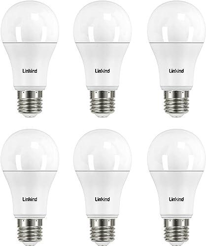 Linkind Lampada LED super luminosa da 13,2 W, lampadina a incandescenza da 100 W sostituita, lampadina E27 bianco cal...