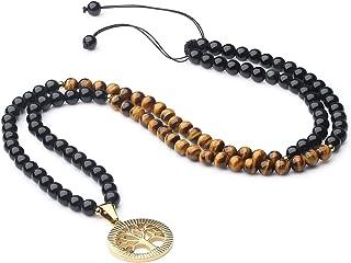 COAI Tree of Life Pendant 108 Beads Japa Mala Necklace