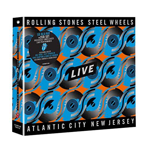Steel Wheels Live (Atlantic City 1989) (1 BluRay + 2 CD) [3 Disks] [Blu-ray]