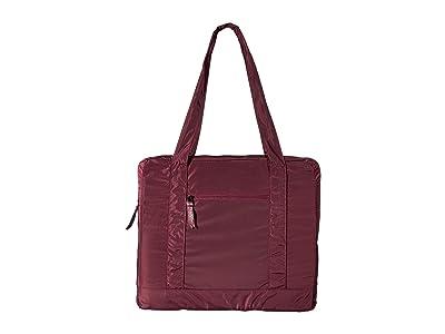 Baggallini Packable Tote Bag (Eggplant) Tote Handbags