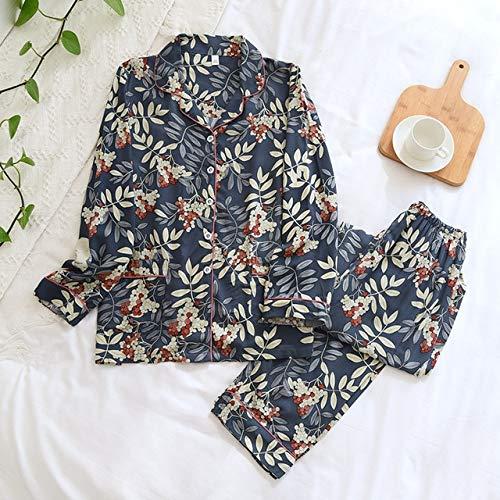Sottile sezione casual donna pigiama set abbigliamento casa donna