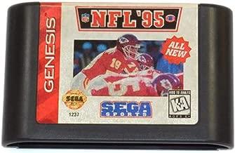 Vintage NFL '95 Sega Genesis Video Game Cartridge