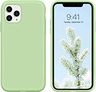 Case for iPhone 12 Pro Max and 12 Pro and 12 and 12 Mini - soft Liquid Silicone - soft microfiber inside - Ultra Slim and ...