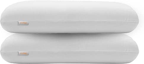 "Magasin 2 Piece Memory Foam Pillow Set - 17"" x 27"", White"
