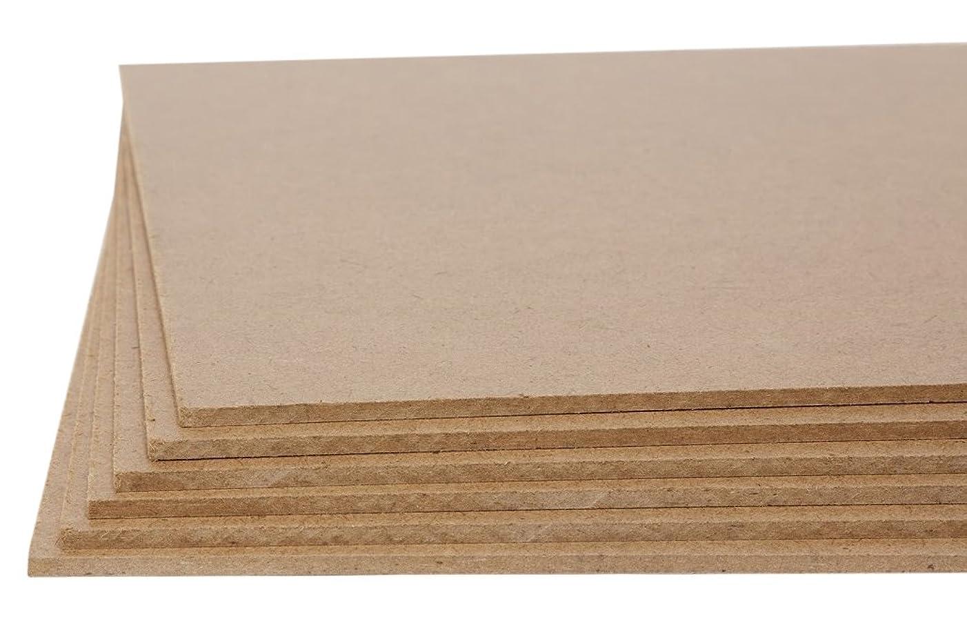 Jack Richeson Medium Density Untempered Hardboard(6 Pack)