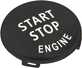 start stop knopf Kompatibel mit BMW Austausch der Motorstartknopf TTCR-II Sports Red Start Stopp Taste Serie 1 3 5 6 X1 X3 X5 X6, E81 E90 E91 E60 E63 E84 E83 E70 E71