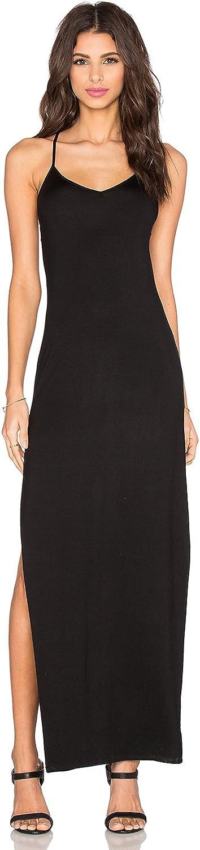 Benjamin Jay Women's Black Tongue Tied Maxi Dress Size L