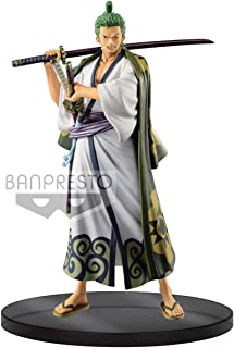 Banpresto- Zoro Wano Kuni Figurine, 75530009842, Multicouleur