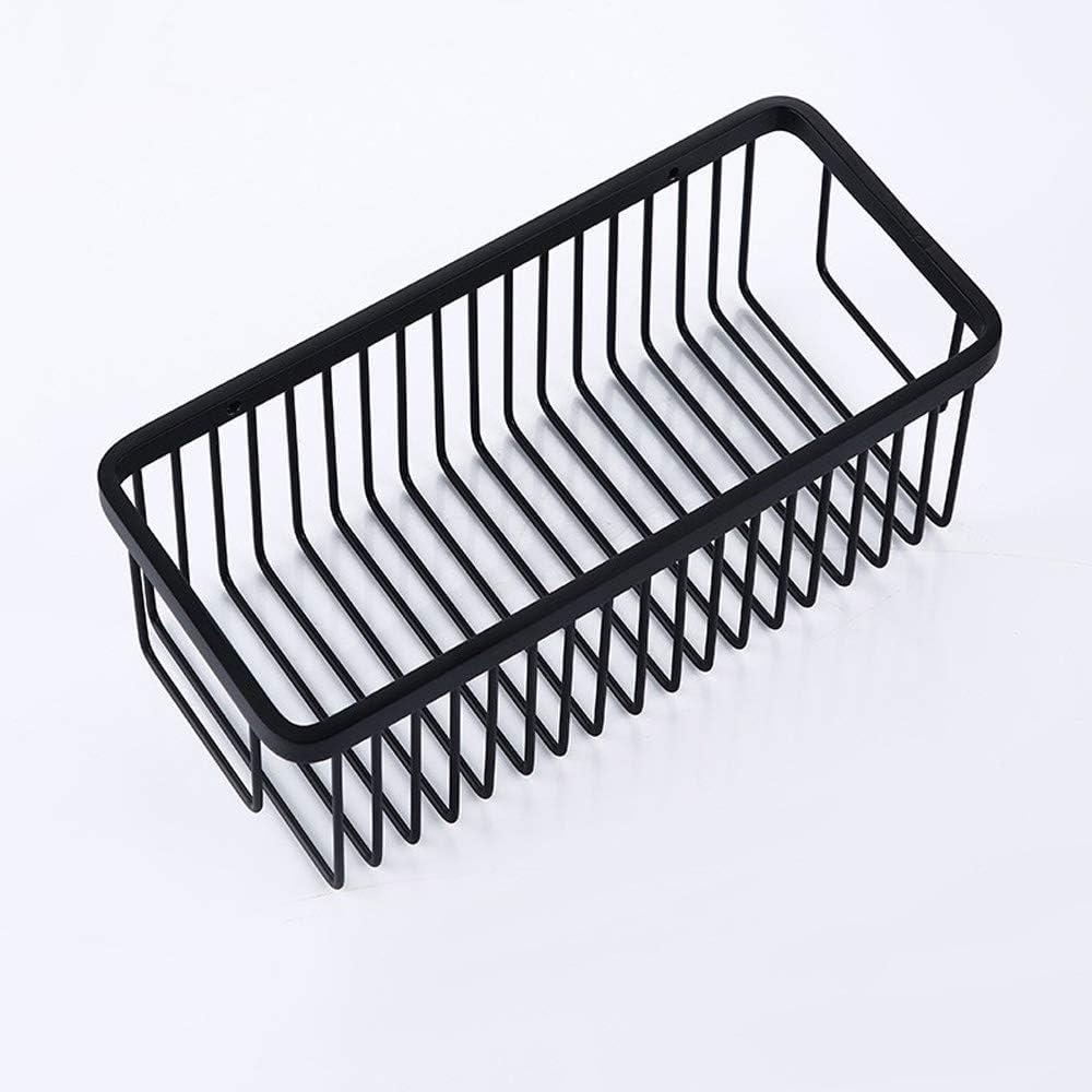 DBS UK Bathroom Shelf Modern Bath Basket Rustproof Storage Tulsa Mall Black Beauty products