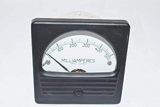 WESCHLER RX351DCMA Panel Meter 0-1MILLIAMPERES