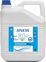 HNESS Instant Hand Sanitizer, 80% Alcohol Based Sanitizer, Non-Sticky, Skin-Friendly with fragrance extract added (WATER M...