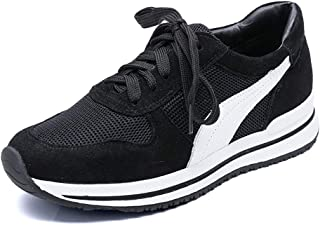 ZLYZS Zapatos De Mujer Zapatos Planos Casuales, Mujer con Cordones, Zapatillas De Deporte Transpirables para Mujeres Zapat...