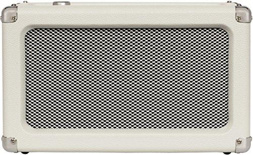 Crosley CR3028A-WS Charlotte Vintage Full Range Portable Bluetooth Speaker, White Sand
