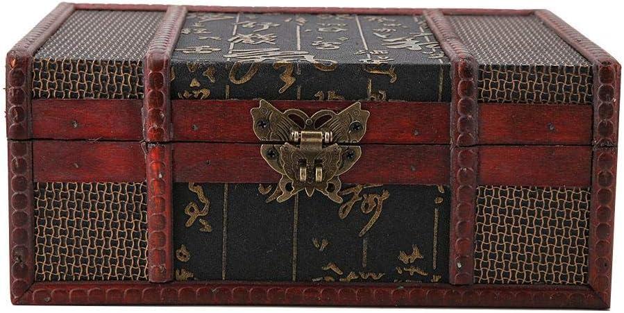 Decorative Treasure Box Vintage Wooden Storage Bo Large Popular shop is the lowest price challenge 2021 model Desktop