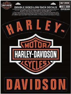 Harley-Davidson H-D Bar & Shield Rockers Window Cling - 8.5 x 11.25 in DW28366
