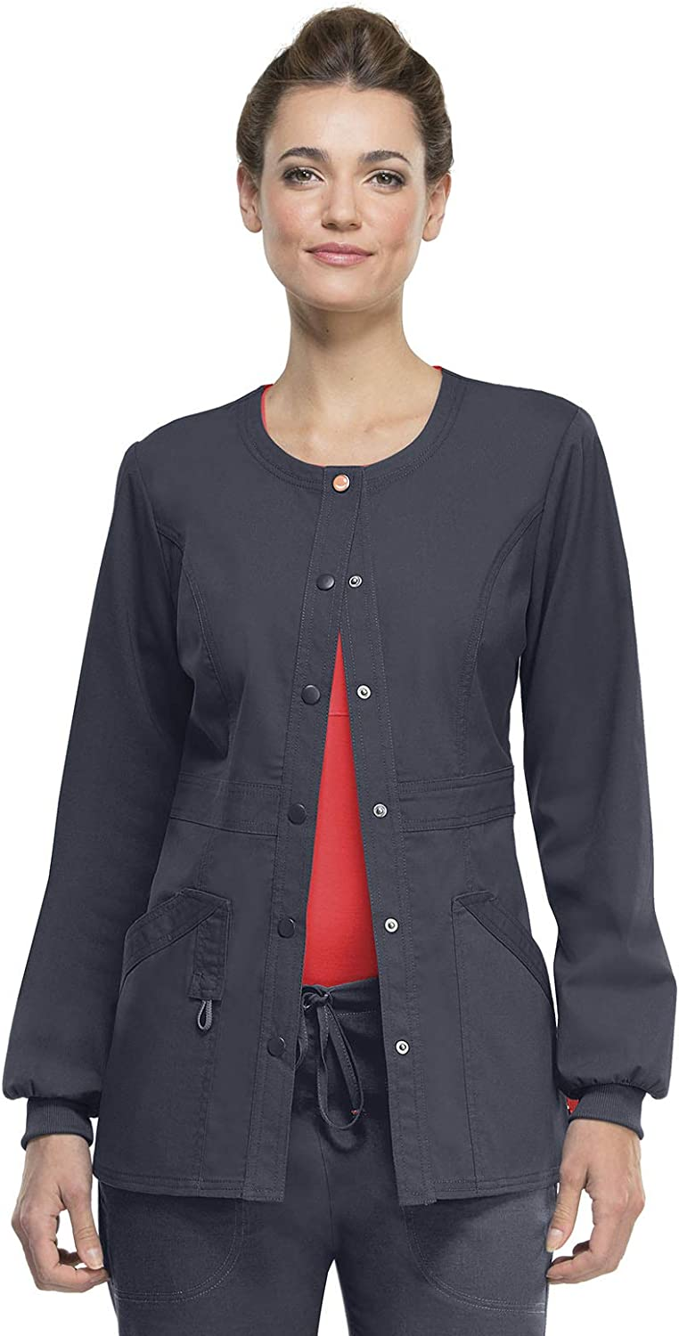 Code Happy Women's Bliss Snap Front New color Outlet ☆ Free Shipping with Warm-up Jacket Certaint