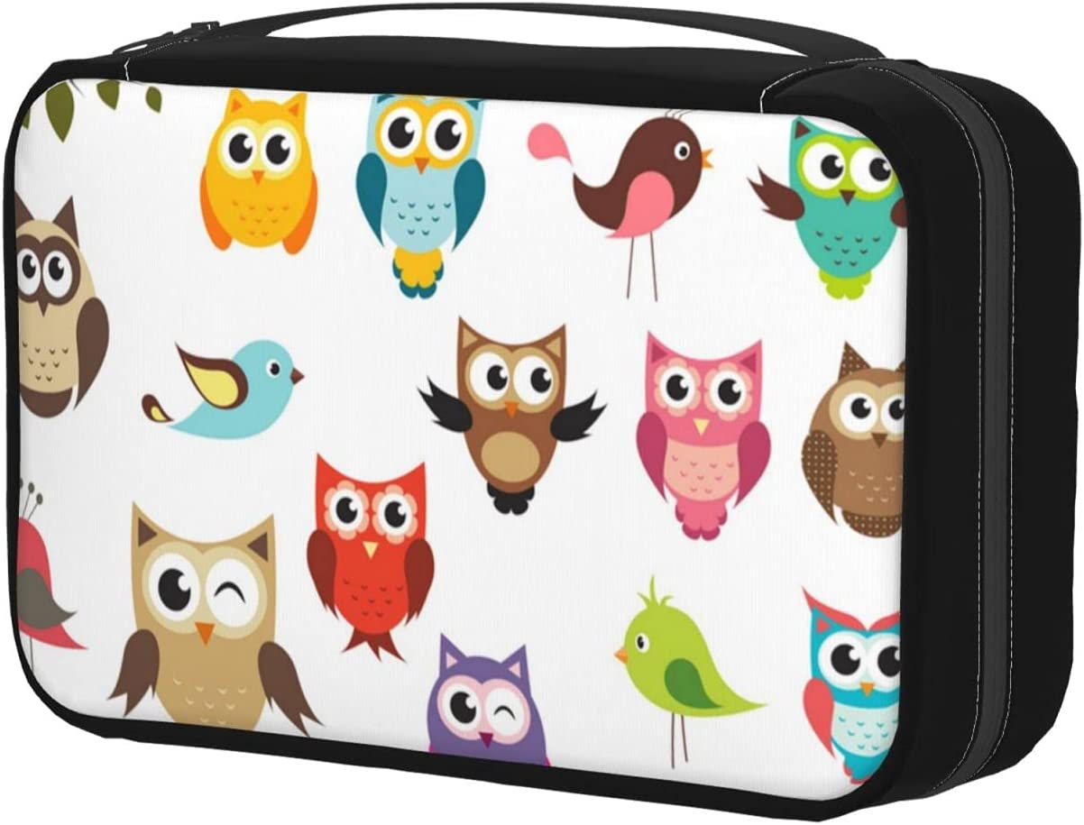 Toiletry Manufacturer direct delivery Bag With Hanging Bargain Hook Cosmet Raster Makeup Version Owls