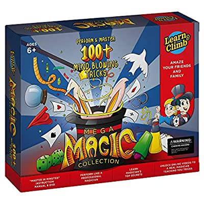 Mega Magic Kit for Kids. Perform Hundreds Today's Most Exciting Tricks. Magic Set with Instructional DVD