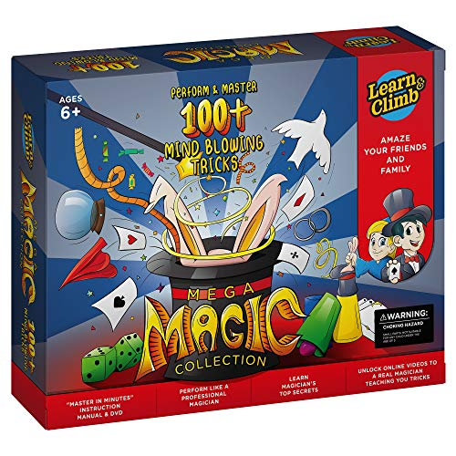 Mega Magic Kit for Kids. Perform Hundreds Today's Most...