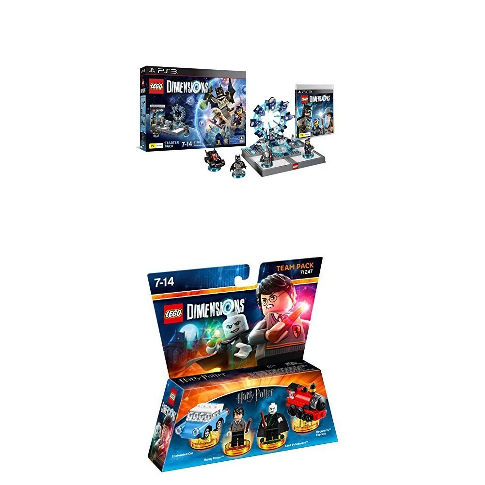 LEGO - Starter Pack Dimensions (PS3) + LEGO Dimensions: Harry Potter: Amazon.es: Videojuegos