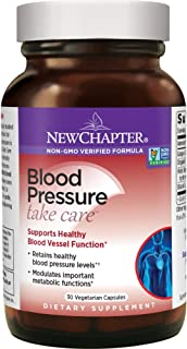 New Chapter Blood Pressure Supplement - Blood Pressure Take Care with Grapeseed + Black Currant + Non-GMO Ingredients for Blood Pressure Support - 30 ct Vegetarian Capsule