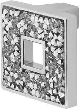 Wisdom Stone 4204CH Carraway 1-5/16 Cabinet Knob, Polished Chrome