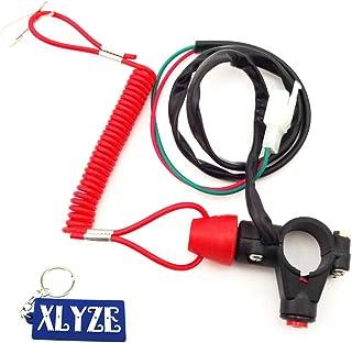 Outtybrave Schalter Schl/üssel mit Lanyard Marine Parts Boot Stop Switch Motor Lanyard Kill Tether Outdoor Safety Cord