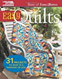 Best of Fons & Porter: Easy Quilts