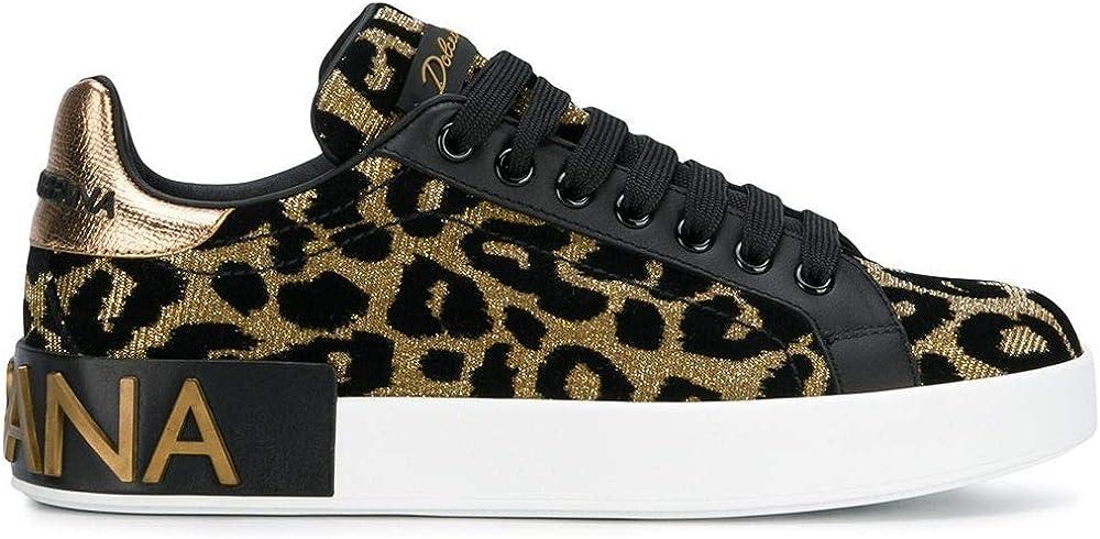 Dolce & gabbana luxury fashion,sneakers per donna,in pelle 20%, poliestere 35%, poliuretano 45% CK1570AV26287530
