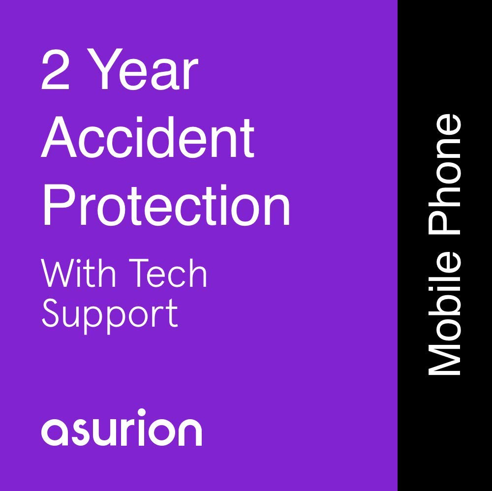 ASURION 2 Year Mobile Accident Protection Plan with Tech Support $125-149.99