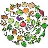 HENJIA Exquisite Cartoon frische Früchte Gemüse Aufkleber für Küche Bäckerei Cup...
